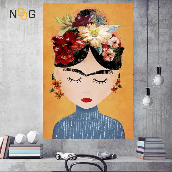 canvasprint, art, Home Decor, selfportraitoilpainting