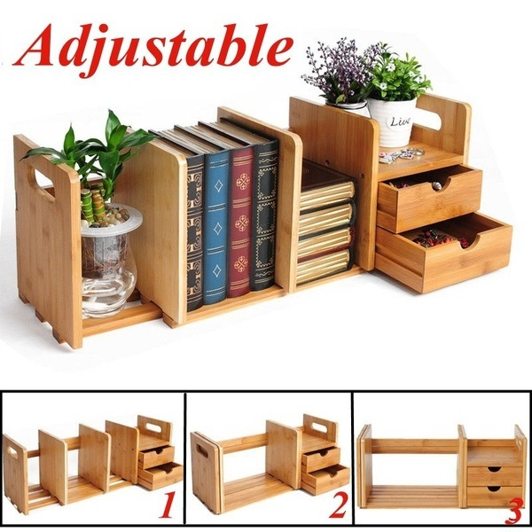 desktopbookrack, bookorganizer, Bamboo, Book