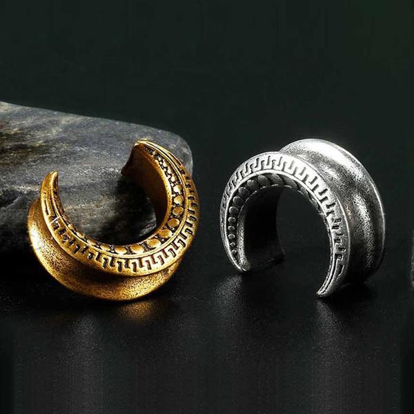 eartunnelplug, Jewelry, earexpander, crescentmoonearplug