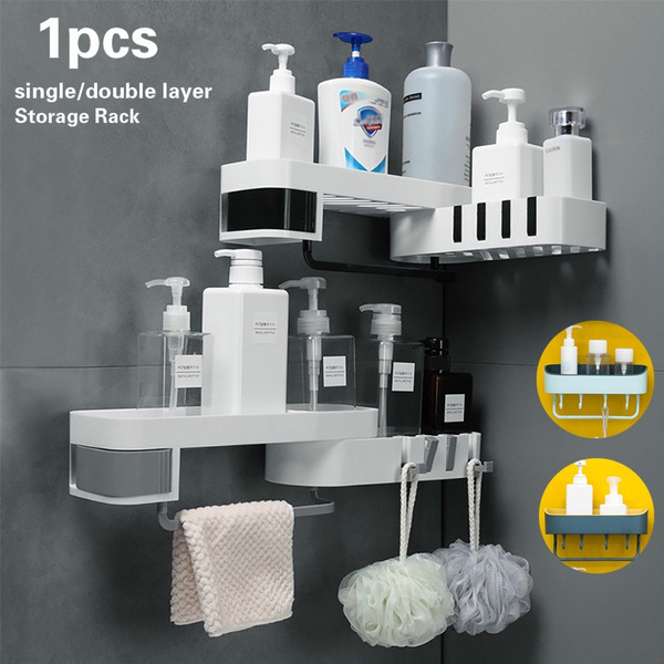 storagerack, cornershelf, multifunctionalshelf, Home Decor