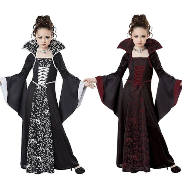 gowns, GOTHIC DRESS, Plus Size, Long Sleeve