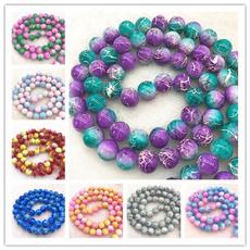 Jewelry, Glass, Beads Earrings, Bracelet
