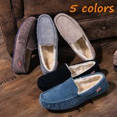 non-slip, casual shoes, Plus Size, velvet