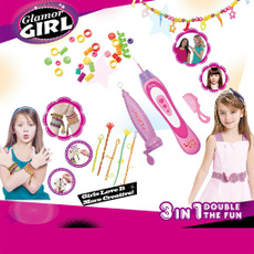 hairstyle, girlaccessorie, handicraft, Bracelet