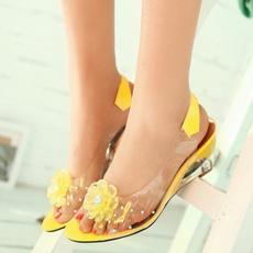 wedge, Sandals, jellysandal, Sandals & Flip Flops
