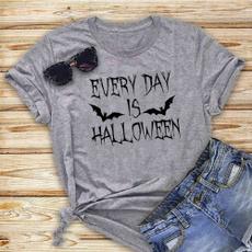 Fashion, Cotton Shirt, Shirt, halloweengift