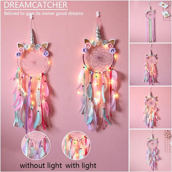 led, wallhanging, Dreamcatcher, dreamcatcherlight