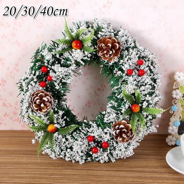 Door, Christmas, christmaswreath, Festival