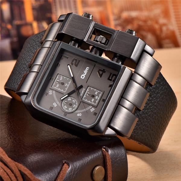 quartz, Waterproof, Brand, Watch