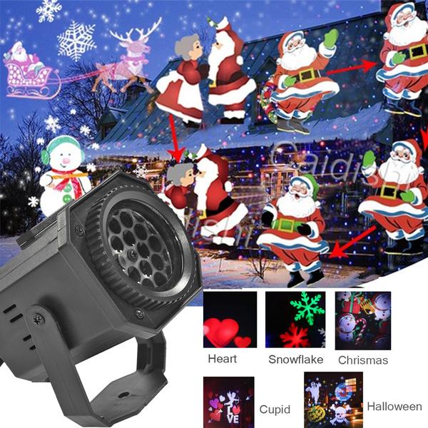 julbelysning utomhus laser