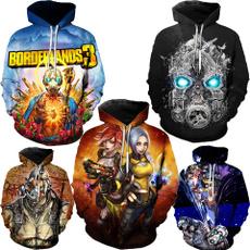 hoodiesformen, 3dprintsweatshirt, Cosplay, Sweatshirts
