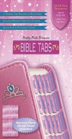 Princess, tabsfortheoldtestamentpluscatholicbook, pinkedgedbibletab, bibletab