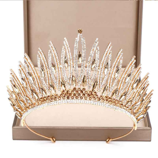 Jewelry, gold, crown, crystalcrown