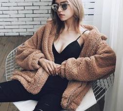 Pocket, Fleece, Fashion, Winter