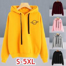 Casual Hoodie, printed, pullover hoodie, Sleeve