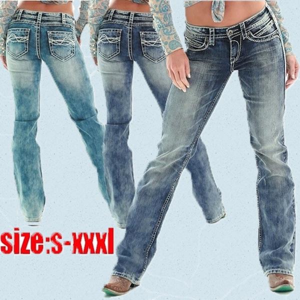 slim, high waist, pants, Women jeans