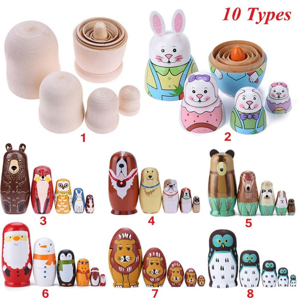 russianmatryoshka, bearear, doll, nestingtoy