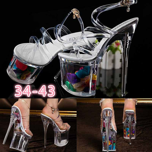 crystle, Sandals, Womens Shoes, pole