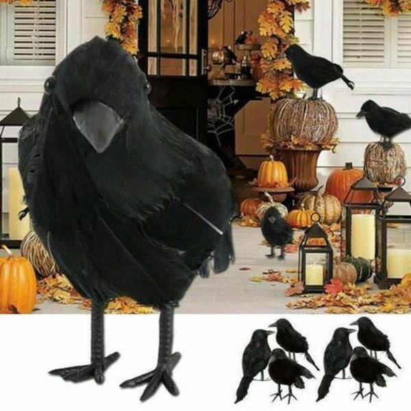 Decor, halloweenprop, blackcrow, halloweengift