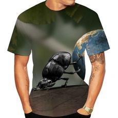 Funny, dungbeetle, Shirt, Men