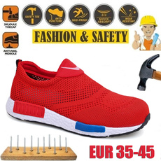 Steel, Summer, Sneakers, safetyshoeswomen