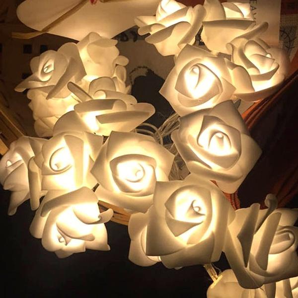 fairylight, flowerlight, lights, decoration