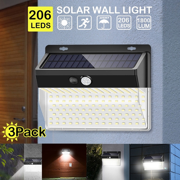 solarwalllamp, pirmotionsensor, Outdoor, waterprooflight