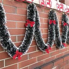 christmasstreamer, christmasribbonsdecor, ribbongarland, Garland