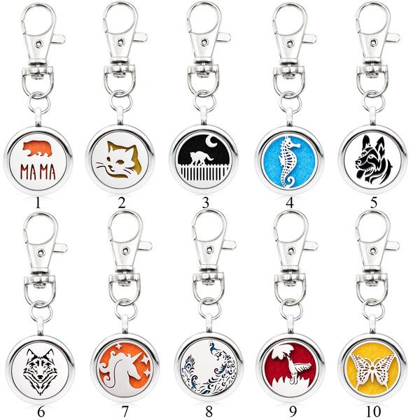 butterfly, Key Chain, Chain, diffuserkeychain