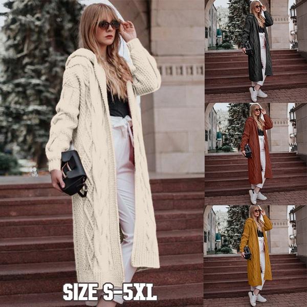 Plus Size, cardigan, Coat, Fashion Sweater