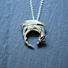 Sterling, Goth, mens necklaces, Necklace