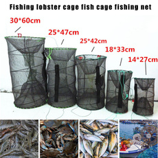 collapsible, portable, Fish Net, shrimplobstercage