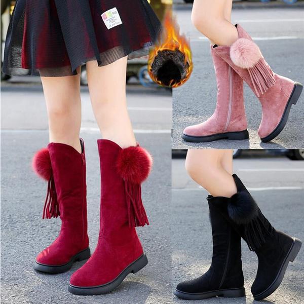 gilrsboot, Knee High Boots, Fashion, Winter