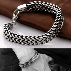 Steel, Fashion, Chain Link Bracelet, stainlesssteelbracelet