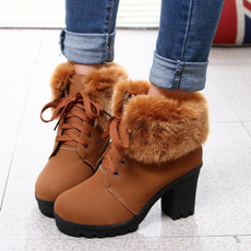 Cotton, Womens Boots, England, shortbarrel