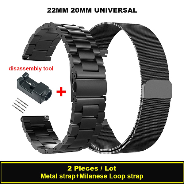 replacementstrapforsamsungwatch, stainlesssteelband, samsungwatchband, Sports & Outdoors