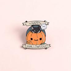 ghost, happyhalloween, pinbadge, Magic