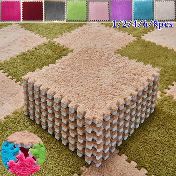 8pcs 30x30cm Eva Foam Diy Puzzle Mat