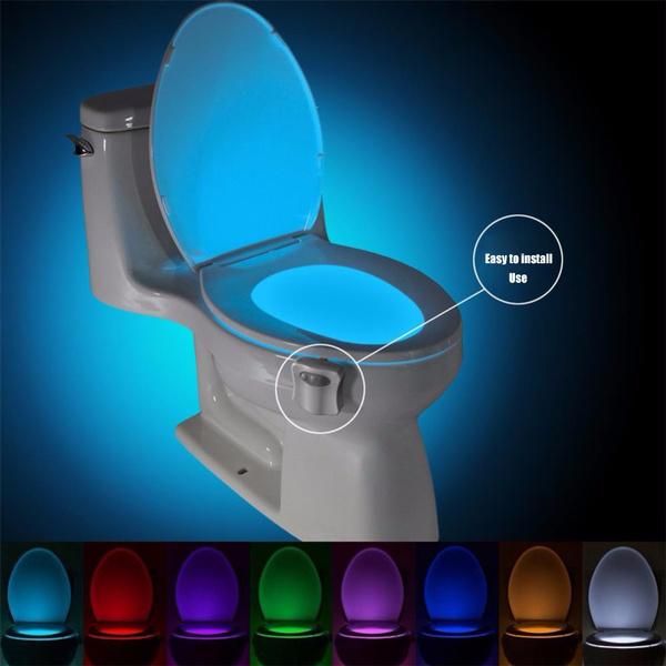 toilet, wctoiletlight, Interior Design, Night Light