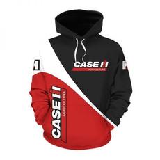case, caseih, Fashion, pullover hoodie