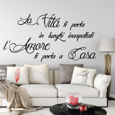 PVC wall stickers, Italy, Home Decor, Wall Decals & Stickers