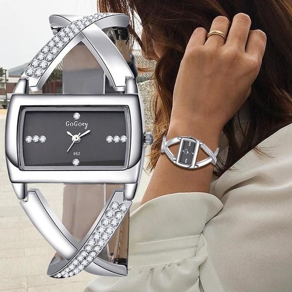 Charm Bracelet, Watches, quartz, relojmujer
