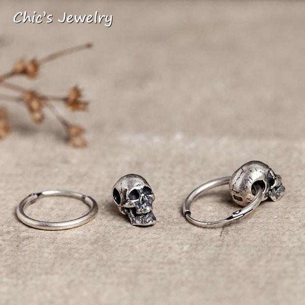 Goth, Punk jewelry, vintageearstud, loverjewelry