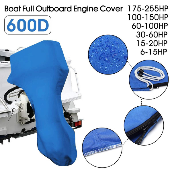 Boat Engine Full Outboard Motor Cover Protection For  *New