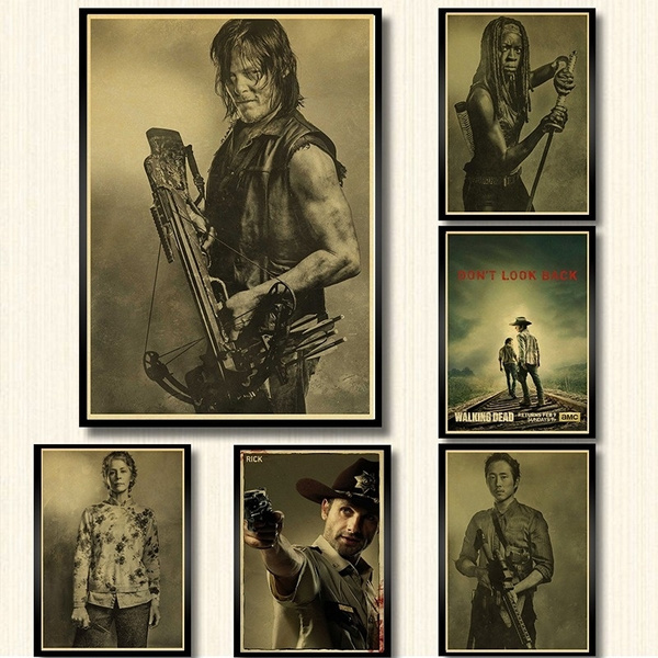 thewalkingdeadposter, Wall Art, Home Decor, Classics