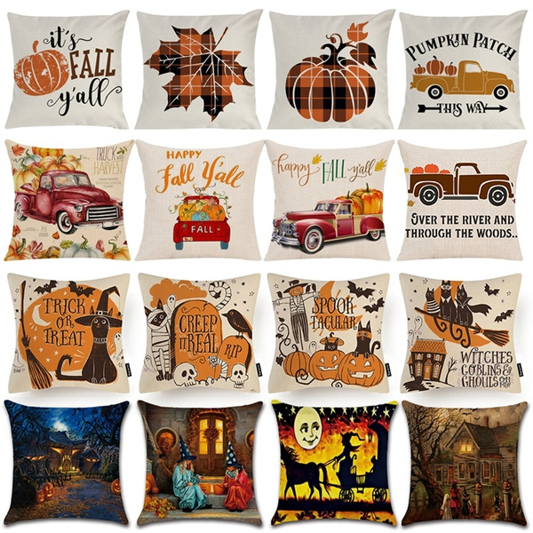 art, Home Decor, Halloween, Pillowcases