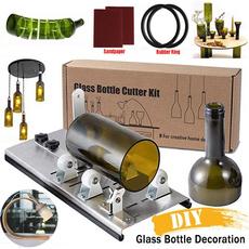 wineliquor, craftknife, glasscutter, Glass