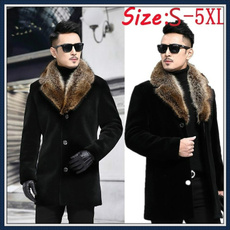 woolen, padded, hooded, fur