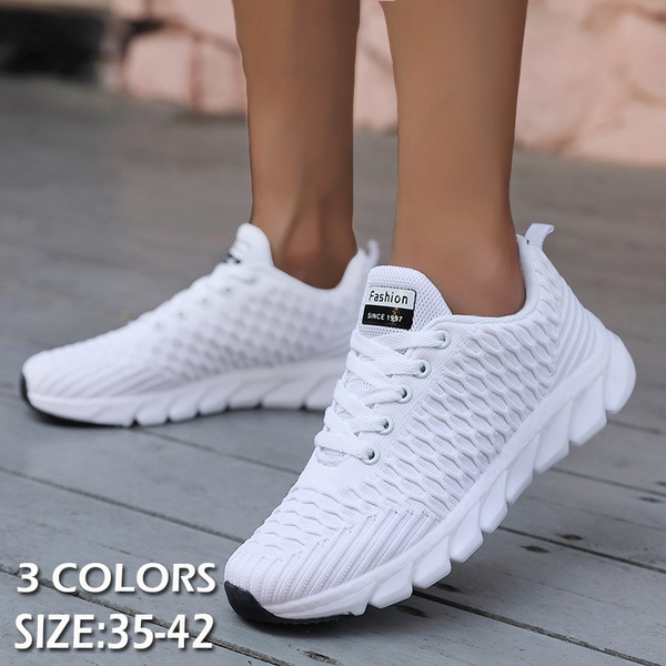 Women Tennis Shoes Mesh Woman Trainers Chaussure Femme Womens Sneakers  Casual Shoes | Wish