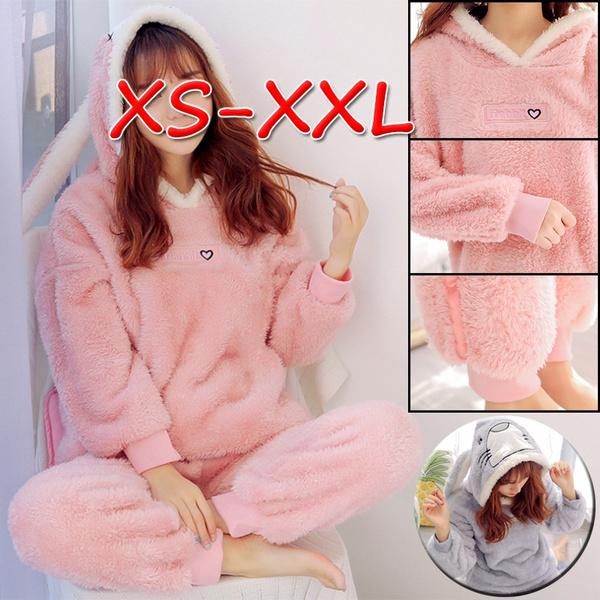 2pieceset, hooded, Winter, pijama